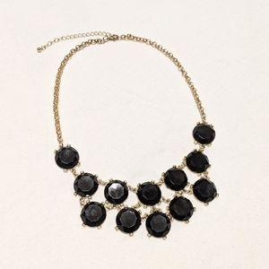 Jewelry - Bulky Black & Gold Necklace